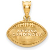 LogoArt Arizona Cardinals Football with Pendant