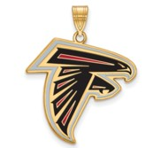 Atlanta Falcons Large Enamel Pendant