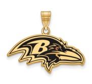 Baltimore Ravens Large Enamel Pendant