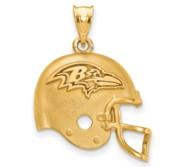 LogoArt Baltimore Ravens Helmet Pendant