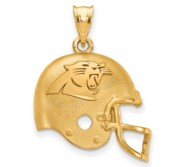 LogoArt Carolina Panthers Helmet Pendant