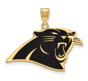 Carolina Panthers Large Enamel Pendant