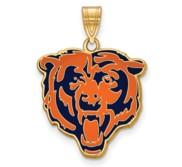 Chicago Bears Large Enamel Pendant