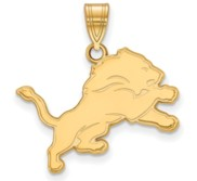 Detroit Lions Medium Pendant