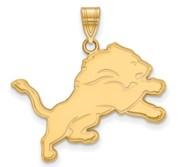 Detroit Lions Large Pendant