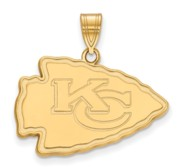 Kansas City Chiefs Large Pendant