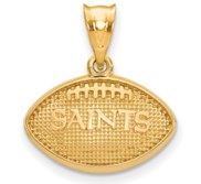 LogoArt New Orleans Saints Football Pendant