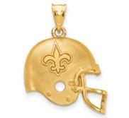 LogoArt New Orleans Saints Helmet Pendant