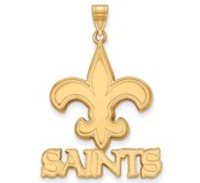 New Orleans Saints XL Pendant