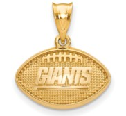 LogoArt New York Giants Football Pendant