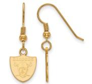 Oakland Raiders XS Dangle Earring Wire