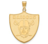 Oakland Raiders XL Pendant