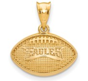 LogoArt Philadelphia Eagles Football Pendant