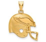 LogoArt Philadelphia Eagles Helmet Pendant