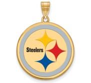 Pittsburgh Steelers Large Enamel Pendant