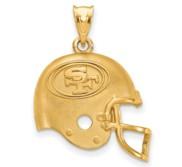 LogoArt San Francisco 49ers Helmet Pendant