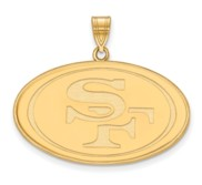 San Francisco 49ers XL Pendant