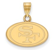 San Francisco 49ers Small Pendant