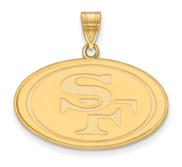 San Francisco 49ers Large Pendant