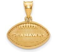LogoArt Seattle Seahawks Football Pendant