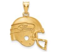 LogoArt Seattle Seahawks Helmet Pendant