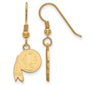 Washington Redskins XS Dangle Earring Wire