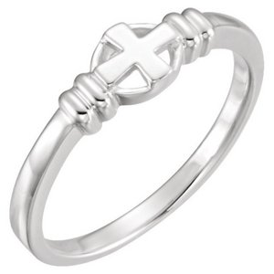 Cross Chastity Ring