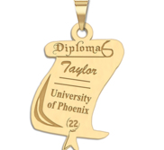 19  Custom Graduation Diploma Charm or Pendant