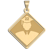 19  Male Graduation Charm or Pendant