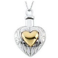 Sterling Silver Cremation Locket