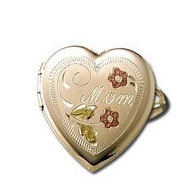14k Gold Locket Ring