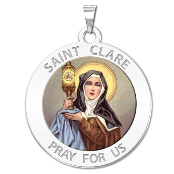 Saint Clare of Assisi Medals