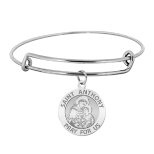 Saint Anthony Expandable Bracelet