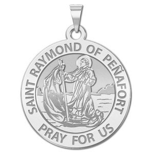 Saint Raymond of Penafort Religious Medal  EXCLUSIVE