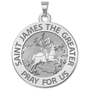 Saint James the Greater Religious Medal  EXCLUSIVE