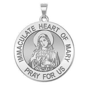 Immaculate Heart of Mary Religious Medal  EXCLUSIVE