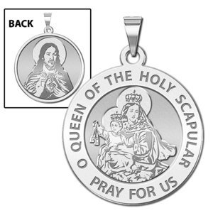 Scapular Religious Medal  EXCLUSIVE