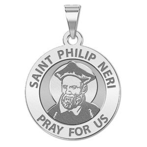 Saint Philip Neri Religious Medal  EXCLUSIVE