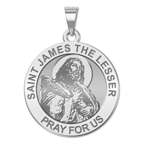 Saint James the Lesser Religious Medal  EXCLUSIVE