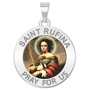 Saint Rufina Religious Color Medal  EXCLUSIVE