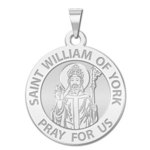 Saint William of York Religious Medal    EXCLUSIVE