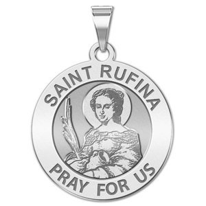 Saint Rufina Religious Medal  EXCLUSIVE