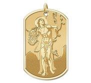 Saint Sebastian   Dog Tag Religious Medal  EXCLUSIVE