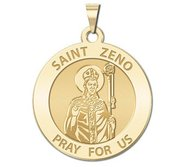Saint Zeno Religious Medal   EXCLUSIVE