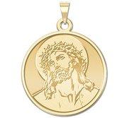 Ecce Homo Round Religious Medal  EXCLUSIVE