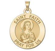 Saint Faith Religious Medal  EXCLUSIVE