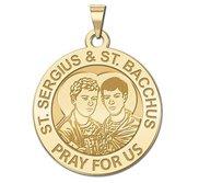 Saint Sergius   Saint Bacchus Religious Medal  EXCLUSIVE