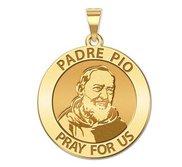Padre Pio Religious Medal  EXCLUSIVE