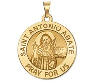 Saint Anthony Abate Round Medal  EXCLUSIVE