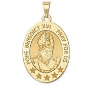 Pope Benedict XVI Oval Religious Medal  EXCLUSIVE